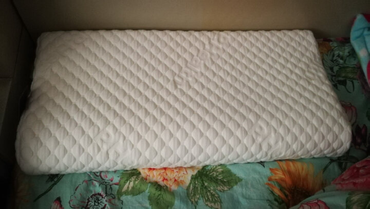 碧荷(P.Health)波形慢回弹记忆棉睡眠枕头颈椎枕保健枕护颈枕记忆枕头 一对装更优惠 气泡棉款 枕高6cm(2件) 晒单图