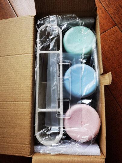 意可可(ecoco) 吸盘牙刷架套装免打孔卫生间置物架浴室牙刷杯子吸壁式漱口杯刷牙洗漱杯 晒单图