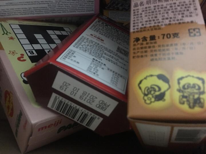 新加坡进口 明治(Meiji)熊猫巧克力夹心饼干50g 晒单图