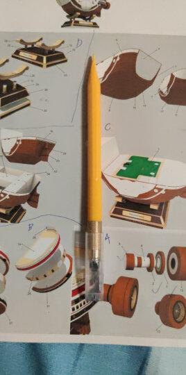 日本原装进口OLFA爱利华AK-5小黄橡皮章笔刀模型纸雕刻刀手机贴膜刀美工刀雕刻橡皮章手工刀学生 KB-5/30B 雕刻刀片 晒单图