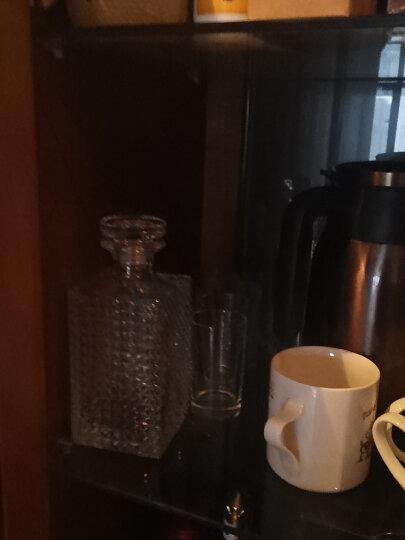 路易治·波米奥尼进口无铅水晶玻璃酒瓶空酒瓶泡酒瓶洋酒威士忌红酒白酒储酒樽礼盒 A款700ml+两个威士忌杯(带礼盒) 晒单图