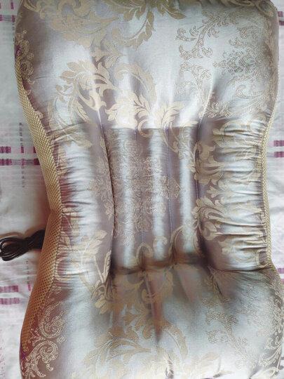 福来健颈椎枕头修复颈椎专用睡眠护颈枕震动按摩电动加热疗成人高低牵引磁石保健理疗枕头 高配元宝亮黄(定时热疗+按摩+草本磁石+充气调节) 晒单图