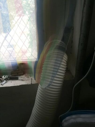 JHS移动空调冷暖大1P一体机快速制冷辅热取暖家用厨房柜立式小空调 晒单图