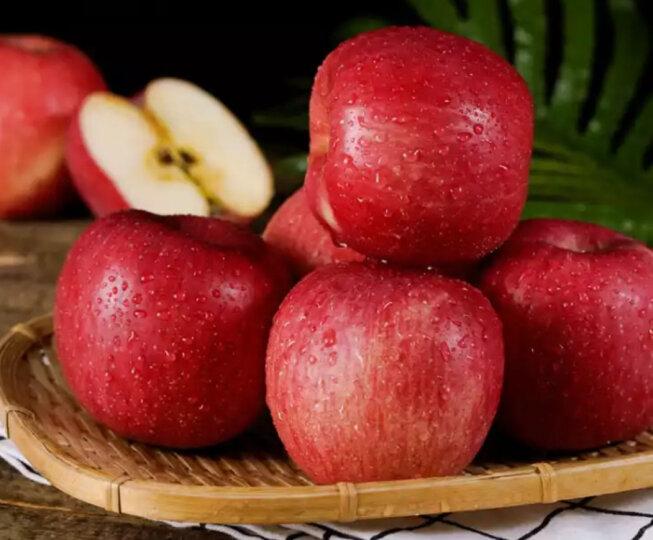 甘肃 静宁红富士苹果6粒 单果160-200g 生鲜水果 健康轻食 新老包装随机发货 晒单图