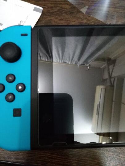 闪魔 任天堂钢化膜 NS全屏防爆指纹玻璃游戏机Nintendo Switch贴膜 任天堂【加强版^电镀双倍抗指纹】 晒单图