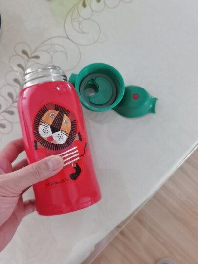 虎牌TIGER 儿童保温杯小狮子600ML(直饮盖+杯盖)品牌直供 真空不锈钢学生水杯户外便携杯子MBR-B06G-RL 晒单图
