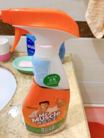威猛先生 玻璃清洁剂 500g 浴室清洁剂 车窗清洁剂 不留水痕 去污防尘 持久洁净 晒单图
