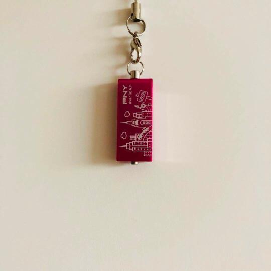必恩威(PNY)双子盘32G 刻字创意纪念礼品展会企业logo个性化金属U盘定制(桃红色、紫色、蓝色、咖啡色) 晒单图