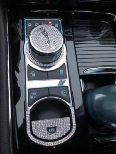 形动(ONGO)专用于捷豹XJ XJL改装配件内饰升级配件装饰车贴 高音喇叭圈-银 晒单图