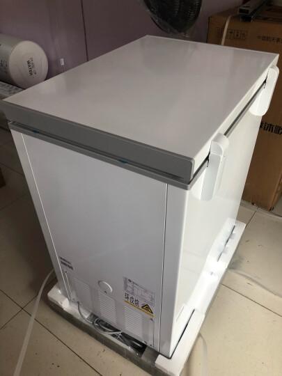 美的(Midea)143升 冷藏冷冻转换冰柜 迷你家用小冷柜 一级能效 单温母婴小冰箱 BD/BC-143KM(E) 晒单图