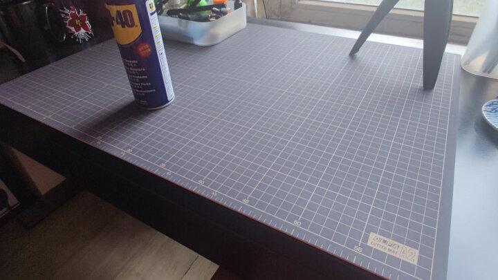 日本原装OLFA爱利华介刀板A4 A3 A2 A1切割板/双色双面DIY手工垫板切割垫板绘画垫板手工 159B(A2) 晒单图