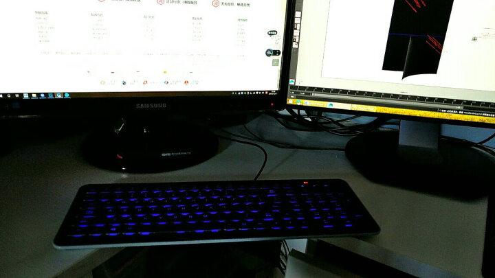 富勒(Fuhlen)L400 有线键盘 静音键盘 男女生家用 笔记本电脑办公 象牙白 晒单图