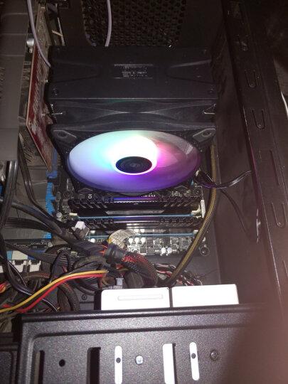 超频三(PCCOOLER)东海X6 CPU散热器(升级螺丝扣具/支持AM4/1200/2011/5热管/PWM温控/12CM风扇/附带硅脂) 晒单图