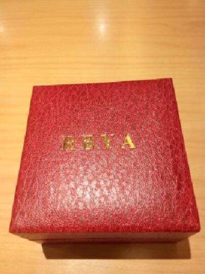 罗比亚(RBYA)手表白色陶瓷女表 时尚潮流石英表女款腕表女士表SC.O21 6103白瓷小盘条丁玫瑰金 晒单图