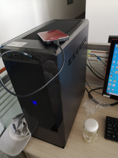 纵横卓创十代i5 10400/GTX1050Ti双硬盘设计师渲染建模绘图视频剪辑游戏组装台式电脑主机 配置一:R7 2700处理器 单主机 晒单图