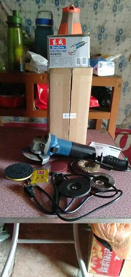 东成 角磨机 多功能角向磨光机 金属切割机打磨机抛光除锈电动工具S1M-FF03-100A东城 金属研磨套餐 晒单图
