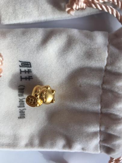 周生生 黄金转运珠足金Charme串珠招财猫黄金转运珠黄金手链手镯 89164C 定价 晒单图