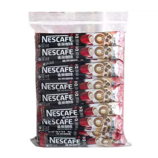 雀巢 Nestle 速溶咖啡 1+2原味咖啡15g*60条/袋 微研磨 三合一即溶咖啡 冲调饮品 晒单图