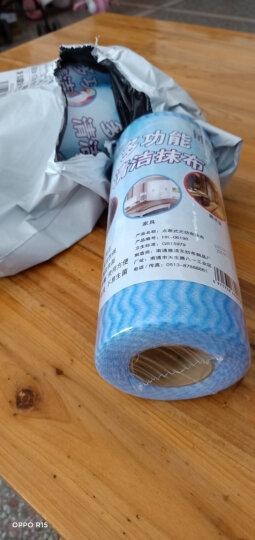 iChoice 抹布清洁布懒人抹布厨房不易沾油百洁布不易掉毛一次性擦桌布吸水洗碗布清洁用具 3卷彩色-颜色随机 晒单图