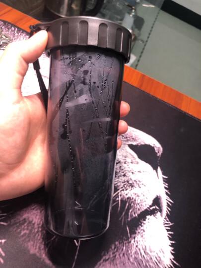 特百惠(Tupperware)莹彩塑料随心水杯子晴空蓝430ml 晒单图