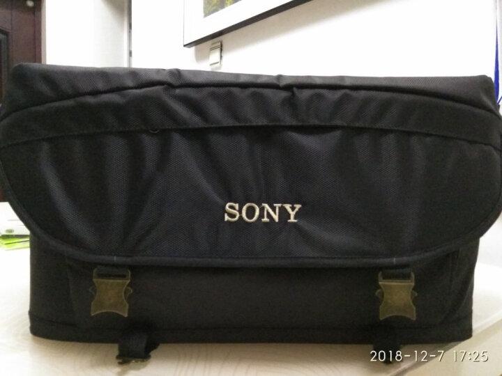 索尼(SONY)HXR-MC2500肩扛式高清数码摄录一体机 婚庆 会议 索尼专业数码高清摄像机 HXR-MC2500 2500C MC2500 套餐二 晒单图