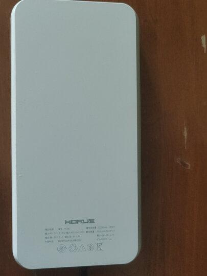 罗马仕(ROMOSS)HO20LED数显屏充电宝20000毫安大容量移动电源苹果安卓双输入适用于华为小米平板深蓝 晒单图