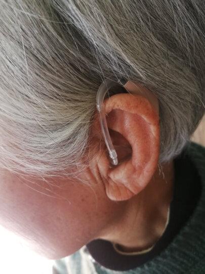 SIEMENS 西门子老年人耳聋耳背式无线隐形助听器 4通道灵捷P+6颗电池+3D定制耳模(推荐) 晒单图