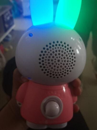 火火兔早教机器人0-3岁-6岁故事机婴幼儿童玩具智能音箱宝宝益智陪伴礼物G6系列 0-6岁G63粉色wifi款+习惯培养(8G) 晒单图