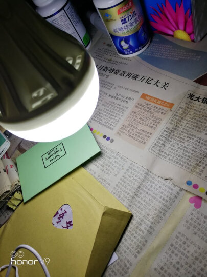 D灯 usb灯led节能灯野营户外应急强光移动电源充电宝5v6伏灯泡带5w 白光 USB接口 5W 5V 10芯片 晒单图
