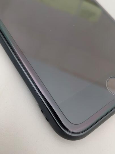 图拉斯 苹果8plus/7p/6s/se2钢化膜 iphone8/7/6全屏覆盖抗蓝光防爆玻璃手机膜 苹果SE2/6/6s/7/8【黑色】高清款 晒单图