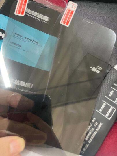 【3片装】朗客 iphone7plus钢化膜 苹果7 plus手机膜 软边全屏覆盖高清防爆无白边手机贴膜【白色】 晒单图
