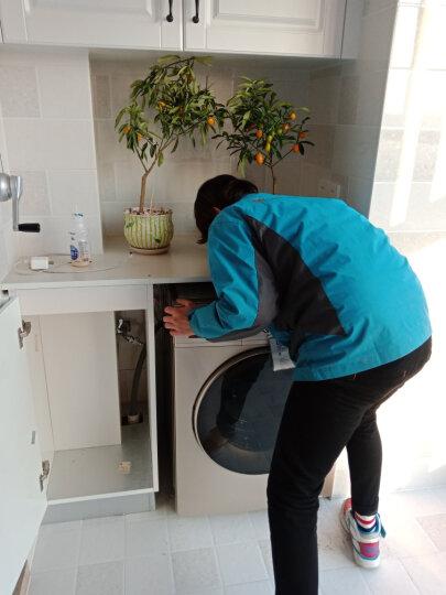 美的(Midea)洗衣机全自动10公斤滚筒洗衣机带烘干 变频 家用洗烘一体机MD100V332DG5 晒单图