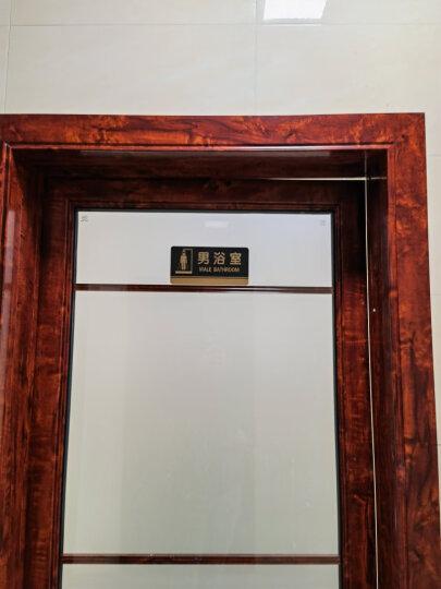 亚克力标识牌墙贴告示指示牌小心地滑禁止吸烟洗手间提示牌 节约用电随手关灯 晒单图