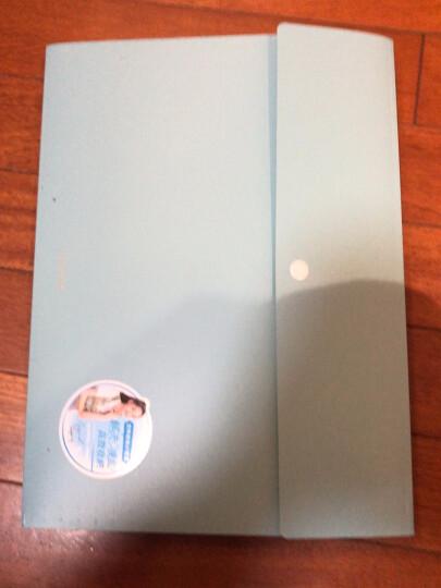 得力(deli)乐素系列 8格按扣文件夹 A4风琴包 票据试卷收纳袋 文件保护 格调灰 办公用品 晒单图