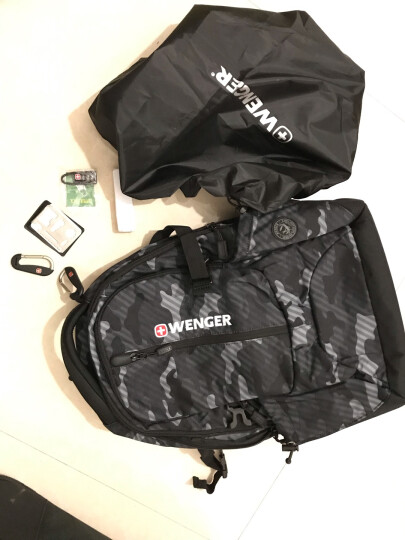 新款瑞士军刀威戈Wenger迷彩色梦野款男女15.6英寸电脑包双肩包背包大中学生书包 迷彩色SAB86815107048 适合13-15.6英寸电脑 晒单图