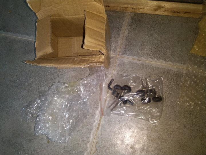 蒙莱奇 黑色衣柜上轮移门上滑轮钛合金门厨房门滚轮子阳台门 晒单图