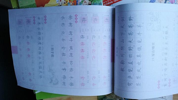 墨点字帖小学生必背古诗词 正楷 硬笔书法钢笔字帖 晒单图