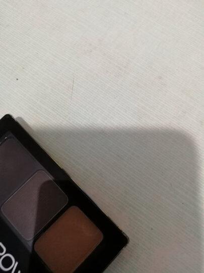 美宝莲(MAYBELLINE)立体塑型高鼻眉粉 01深棕色 1g+1g+1g(高鼻阴影 持久 易上妆) 晒单图