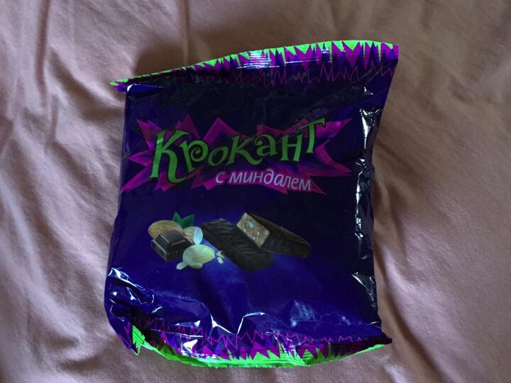 KPOKAHT紫皮糖扁桃仁糖夹心巧克力糖圣诞节糖果俄罗斯进口紫皮糖巧克力散装万圣节糖果婚庆喜糖 紫皮糖500g*5袋 晒单图