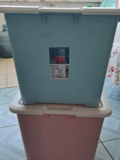 访客(FK)化妆品收纳盒抽屉柜抽屉收纳柜多层可拆卸透明桌面抽屉柜塑料整理柜多功能储物盒收纳箱床头柜 大号3层(顶带格子) 晒单图