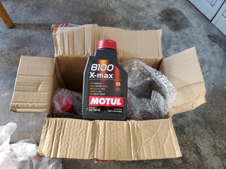 摩特(MOTUL)8100 X-max 0W40 1L SN 法国原装进口 全合成机油  晒单图