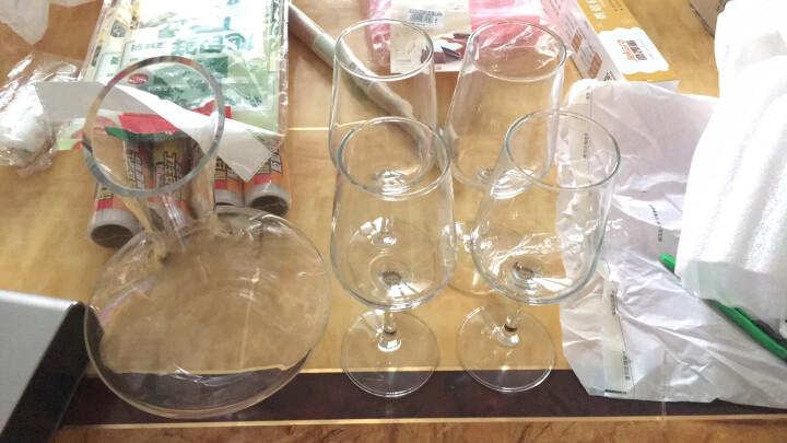 青苹果红酒杯高脚杯葡萄酒杯套装8件套红酒杯*4 醒酒器*1 海马刀 瓶塞杯刷 EJ5736/L5 晒单图