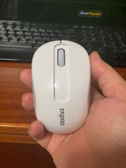 雷柏(Rapoo) M218 无线鼠标 办公鼠标 便携鼠标 对称鼠标 笔记本鼠标 电脑鼠标 白色 晒单图