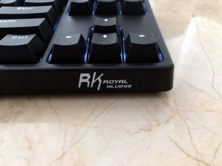 RK 987无线蓝牙有线机械键盘游戏樱桃cherry轴黑轴青轴红轴茶轴平板手机笔记本键盘 87键黑色国产轴-有线/蓝牙双模 茶轴 晒单图