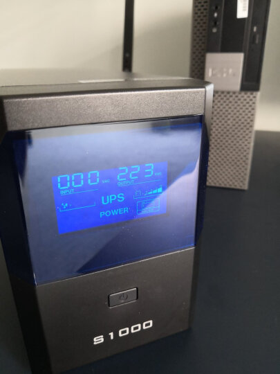 保塔仕UPS不间断电源S1000VA600W家用办公电脑稳压器UPS电源服务器监控防停电应急备用电源 晒单图