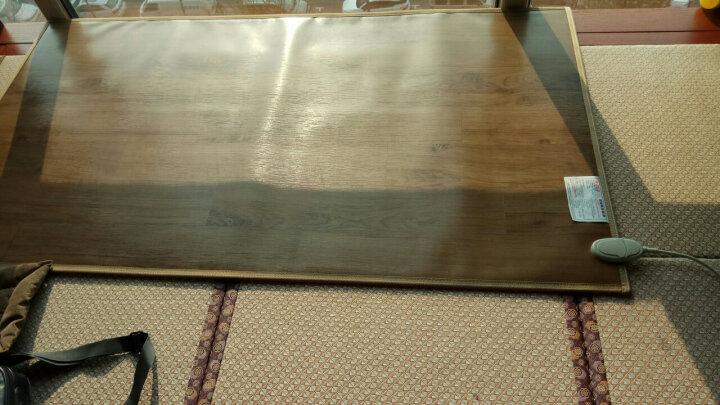 丰盈和暖碳晶电加热地毯 冬季瑜伽电热地暖垫取暖毯 卧室电暖器地暖毯 韩国电热地毯地热垫180*100 LG0772 晒单图