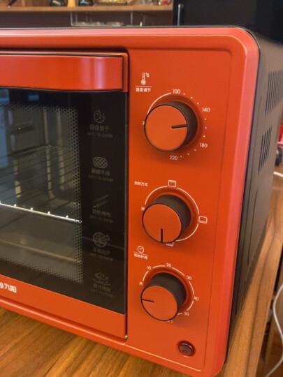 九阳(Joyoung) 家用多功能电烤箱 易操作精准温控60分钟定时 32升大容量KX-30J601 晒单图