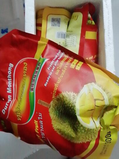 榴鲜生榴莲肉 金枕头榴莲肉泰国进口冷冻新鲜水果彩盒装900g 晒单图