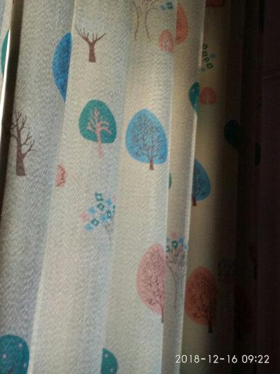 窗帘杆支架罗马杆窗帘配件双杆单杆顶装侧装铝合金加厚底座轨道 标准款象牙白单支架【三个装】 晒单图