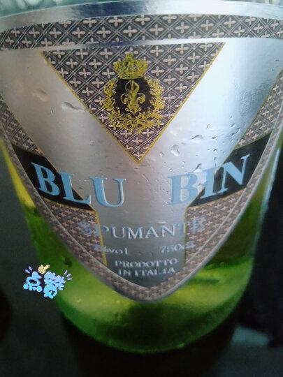 意大利原瓶进口果味甜酒 皮埃蒙特蓝艳槟莫斯卡托(Moscato)甜白起泡葡萄酒 750ml*6支整箱 晒单图